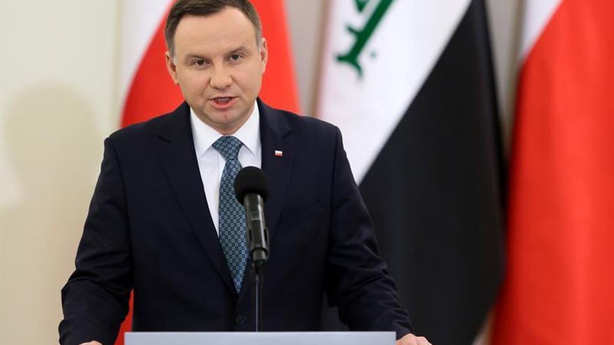 El presidente polaco avanza que ratificará las polémicas leyes de reforma judicial