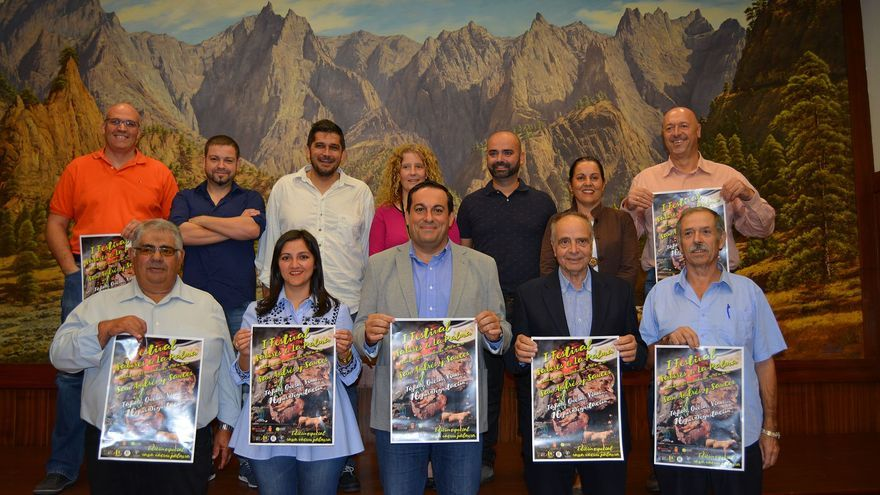 Presentanción este jueves del Festival de Sabores de La Palma.