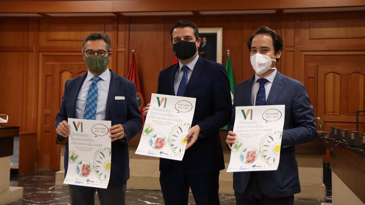Presentación de las VI Jornadas de Innovación en Alimentación, impulsadas por el Colegio Oficial de Ingenieros Agrónomos de Andalucía.