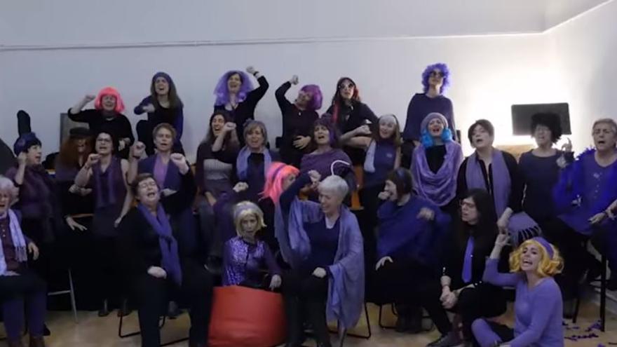 Coro feminista de la Fundación Entredós