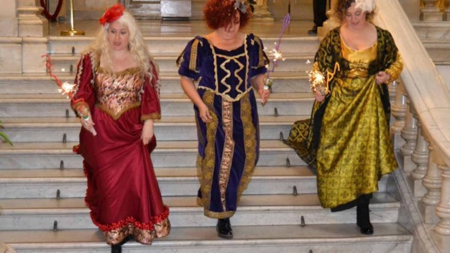Las 'reinas magas' republicanas en el Ayuntamiento de Valencia