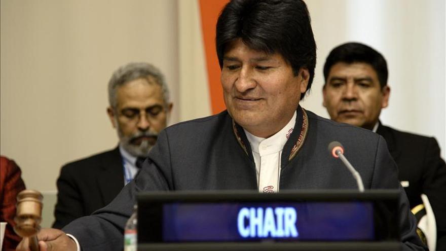 La presidencia del G77, otro éxito multilateral de Morales con muchos retos