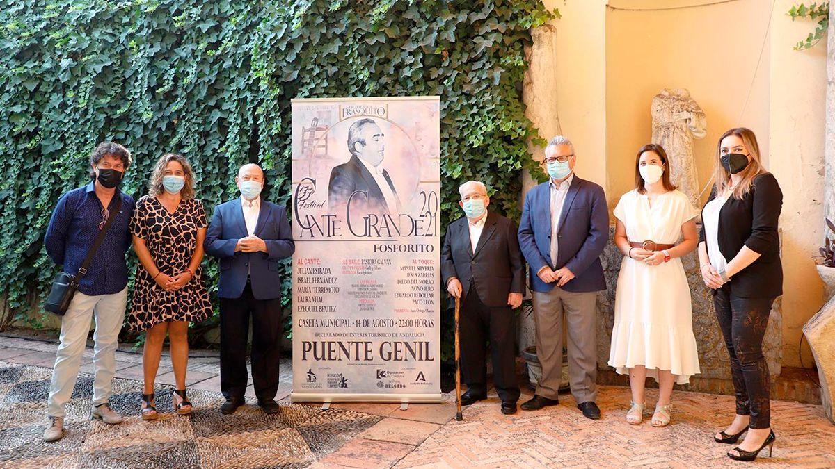 Presentación del Festival de Flamenco de Puente Genil.