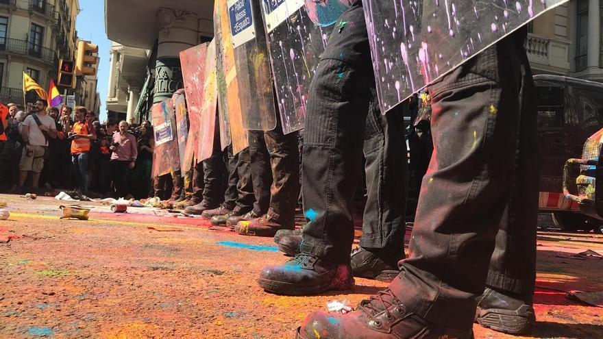 """Ortega (Vox) defiende en la manifestación de Jusapol a los """"policías constitucionales"""""""