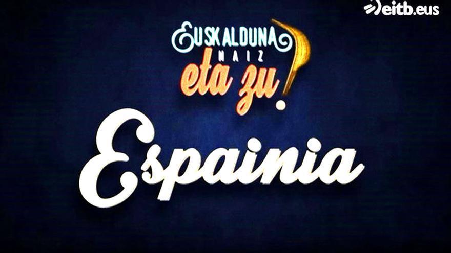 Archivada la denuncia contra el programa de la TV vasca que se mofaba de España