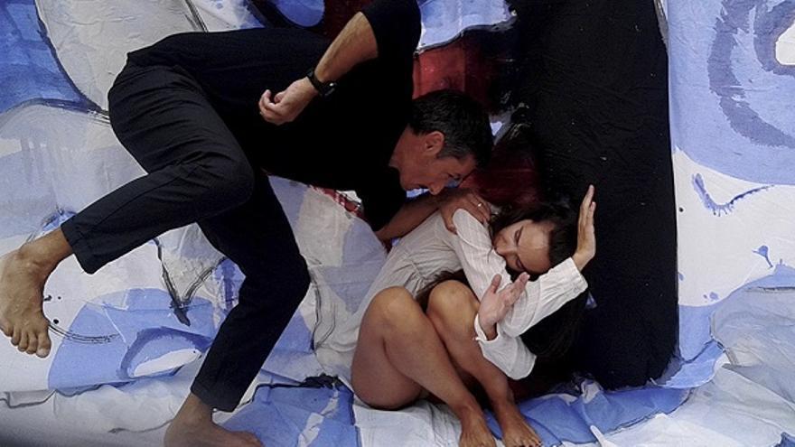 Escena de 'Moby Dick, el mal amor'
