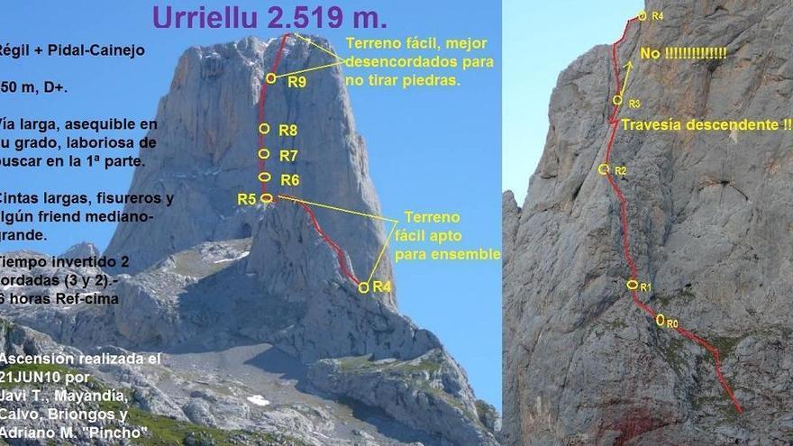 Norte del Picu Urriellu
