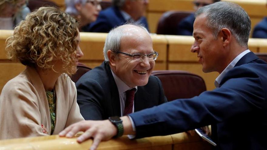 Montilla y Antich se ausentan de la votación del artículo 155 en el Senado