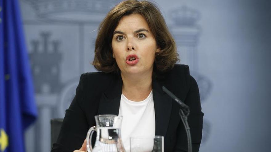 S.Santamaría llama a la responsabilidad de todos para formar Gobierno