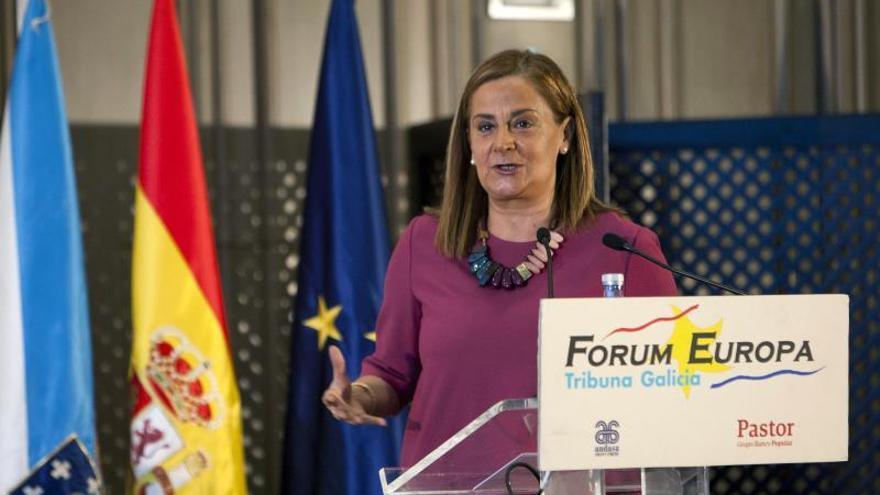 Carmela Silva, Presidenta de la Diputación de Pontevedra