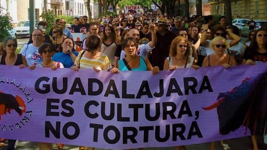 Manifestación de Guadalajara Antitaurina