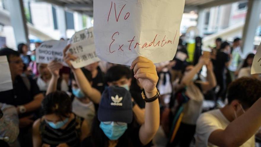 'Madres de Hong Kong' convocan protesta contra la polémica ley de extradición