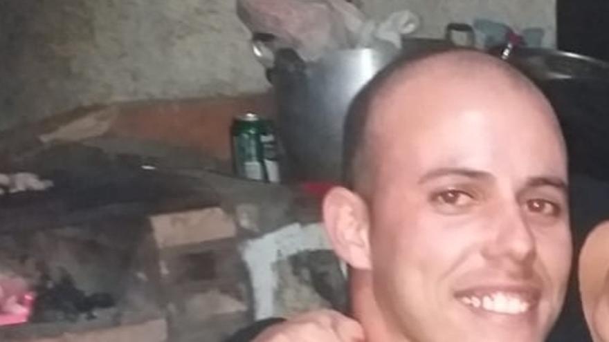 En la imagen, el joven desaparecido en Barlovento.