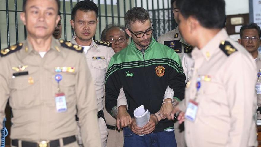 La fiscalía tailandesa acusa de asesinato al español Artur Segarra
