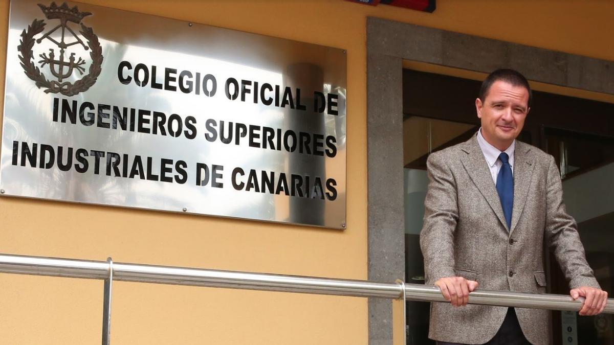 Carlos Medina Álvarez, decano del Colegio Oficial de Ingenieros Industriales de Canarias Oriental (COIICO)