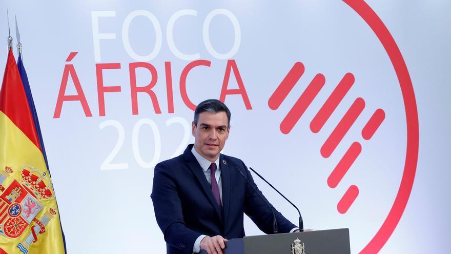 Sánchez presenta un plan que aspira a nueva asociación estratégica con África