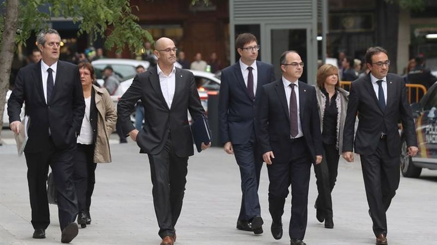 Exconsellers pedirán volver a declarar al Supremo para quedar en libertad