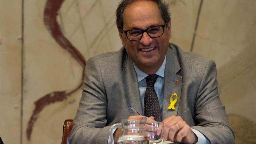 """Torra dice que es """"perverso"""" que el Govern pase a gestionar el encarcelamiento de soberanistas presos"""