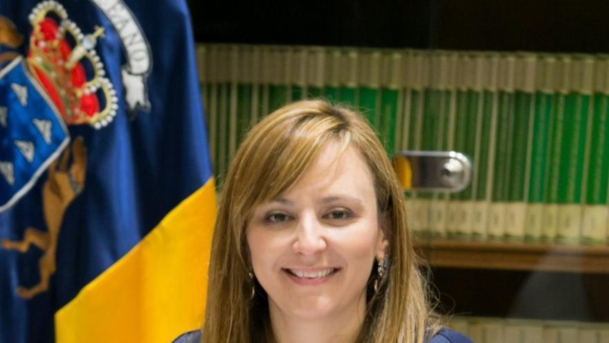 Nieves Lady Barreto es la consejera de Política Territorial, Sostenibilidad y Seguridad.