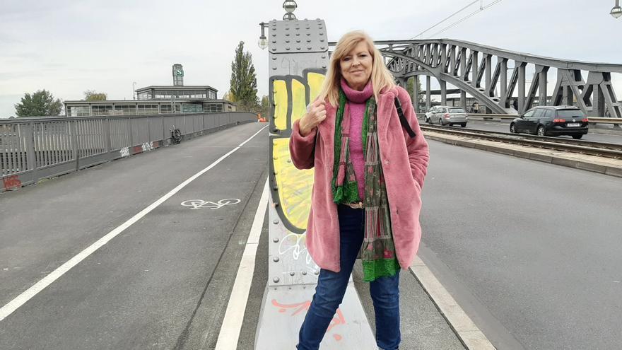 Este viernes, en el puente de Vorhalt.