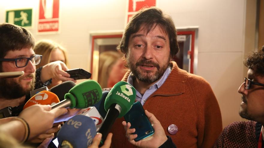 """Mayoral (Podemos) tilda de """"error garrafal"""" la moción de censura en """"un pueblo perdido de Huelva"""""""