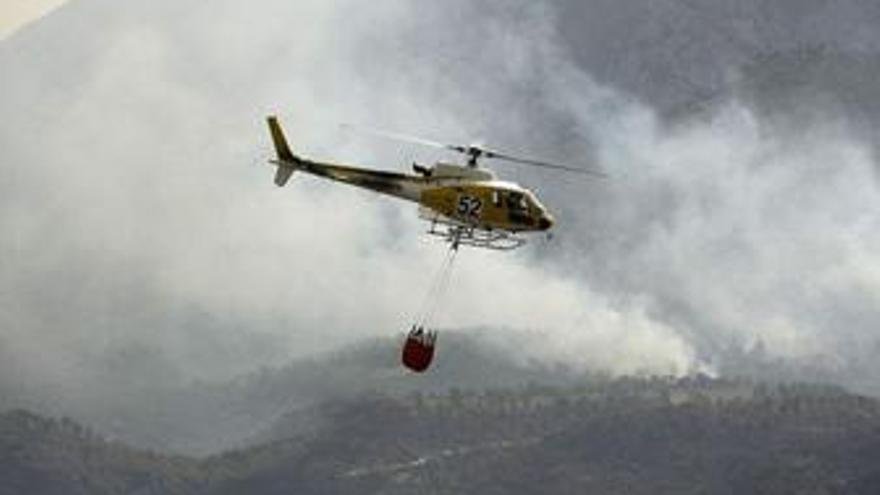 Recurso del incendio de Horta de San Juan (Tarragona)