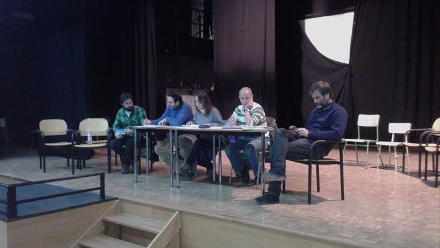 Reunión de Ganemos Toledo / Foto: Alicia Avilés