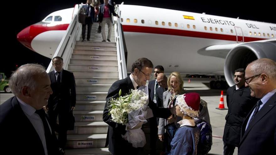 Rajoy llega a Antalya para participar en la cumbre del G20