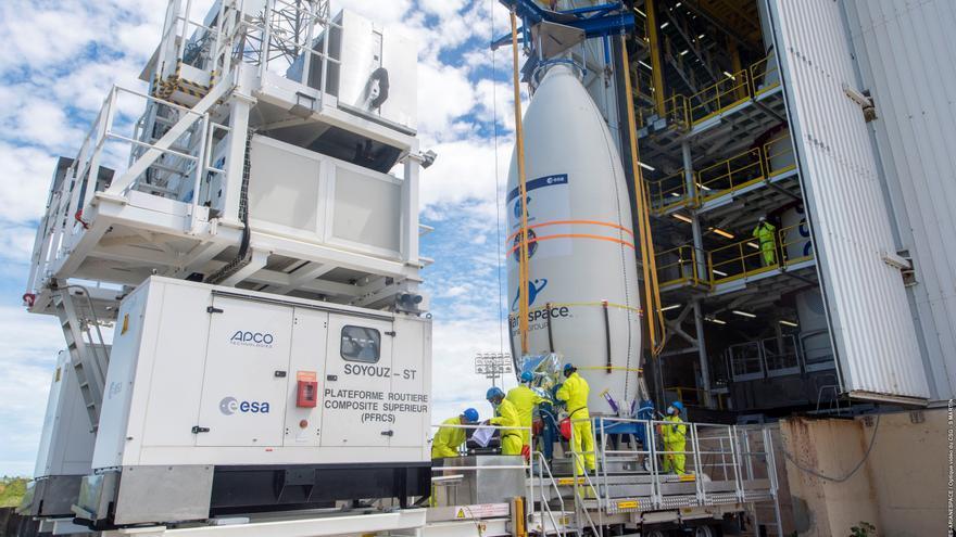 Maspalomas monitoriza el satélite español Ingenio