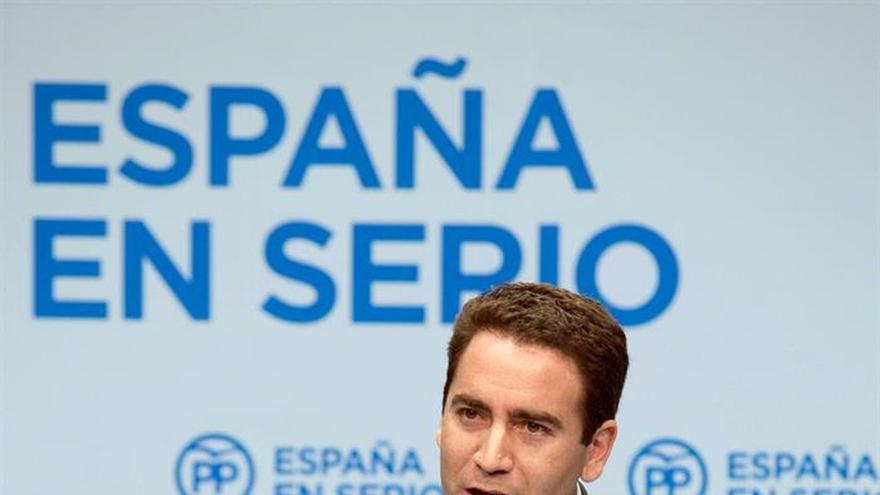 El PP insta al PSOE a apoyar al Gobierno y no dar oxígeno al independentismo