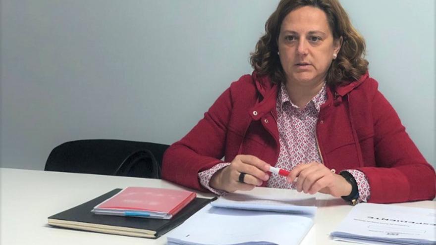 Dolores Padrón, portavoz socialista en Valverde