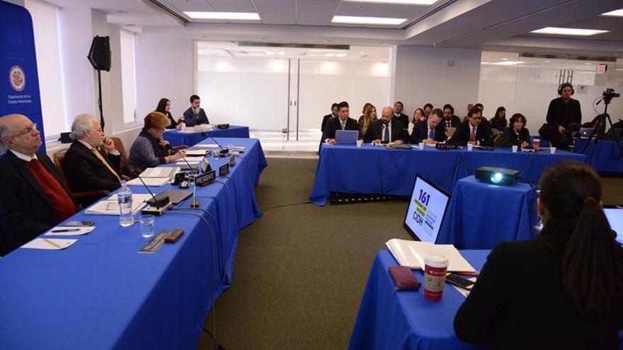 La CIDH estudia casos de Argentina, Guatemala y Perú en tercer día de audiencias