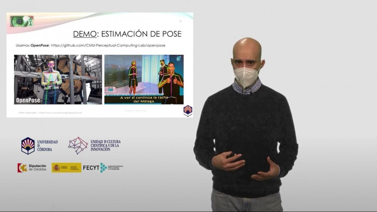 Imagen de uno de los talleres sobre realidad aumentada, realizado por el grupo de investigación Aplicaciones de la Visión Artificial.