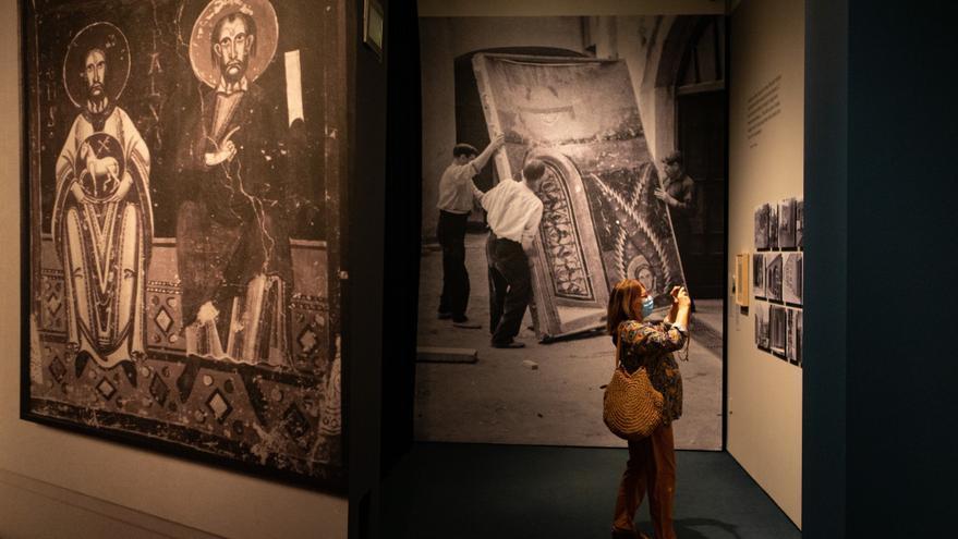 Operación para salvar un millón de obras de arte, de la prehistoria a Dalí