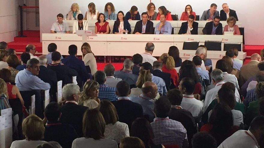 Comité Federal del PSOE el pasado 1 de octubre