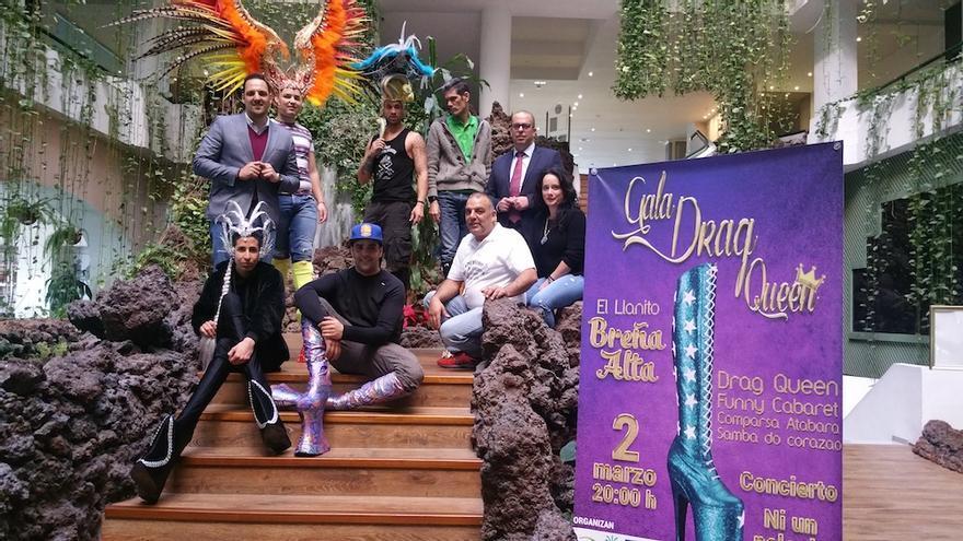 Presentación de la gala este viernes en el hotel H10 Taburiente Playa de Los Cancajos.