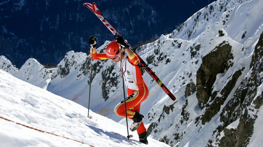 Selección Española Esquí Montaña.