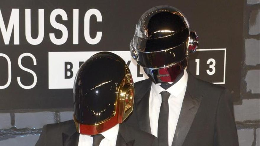"""""""Get Lucky"""", de Daft Punk, gana el Grammy de mejor grabación del año"""