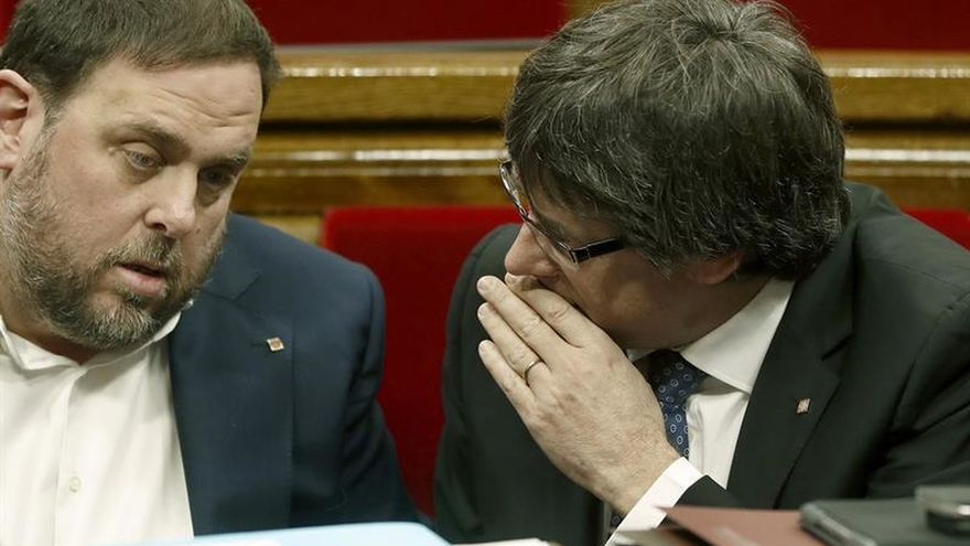 Puigdemont insta a Rajoy a ser interlocutor con Cataluña y no solo con Trump