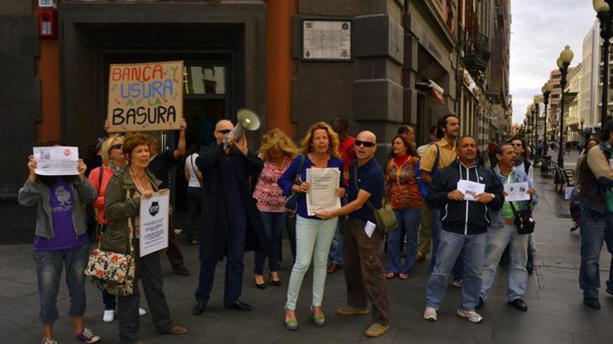 De la protesta contra el desahucio #9