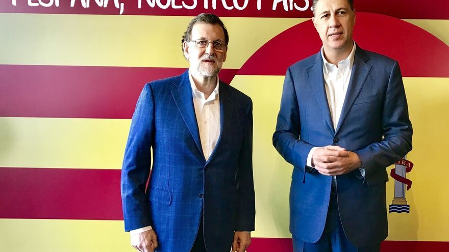 El PP catalán quiere que la presencia de Rajoy y el 155 sean sus principales activos en la campaña electoral
