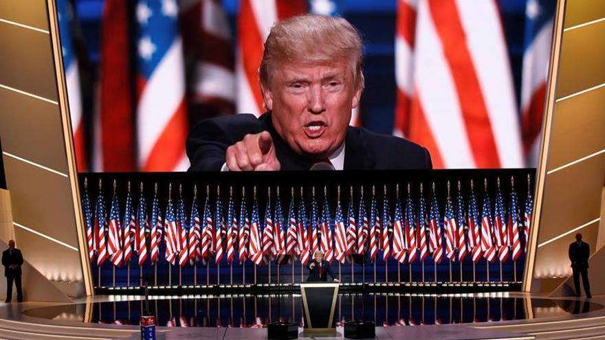 El discurso de Donald Trump como nominado presidencial desata furor en EE.UU.