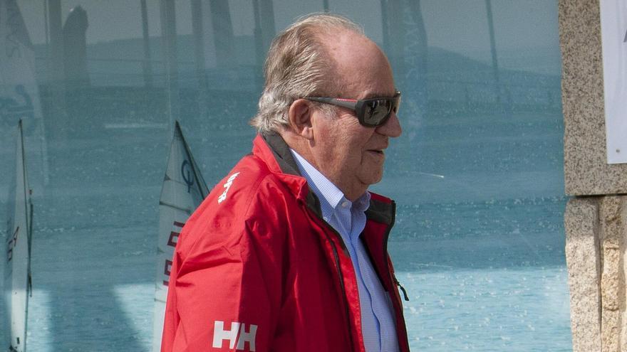 El rey emérito Juan Carlos I. EFE/Salvador Sas/Archivo