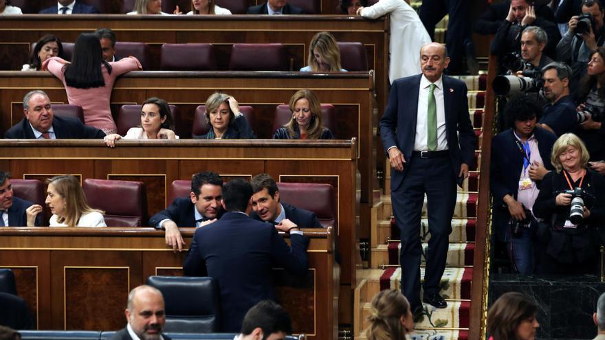 El diputado nacional del PRC, José María Mazón, en su toma de posesión en el Congreso.
