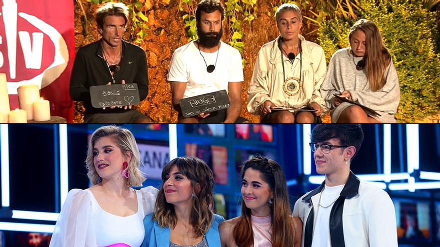 Telecinco pone a los 'Supervivientes' en 'Camino a la final' para quitar foco a la semifinal de 'OT 2020'