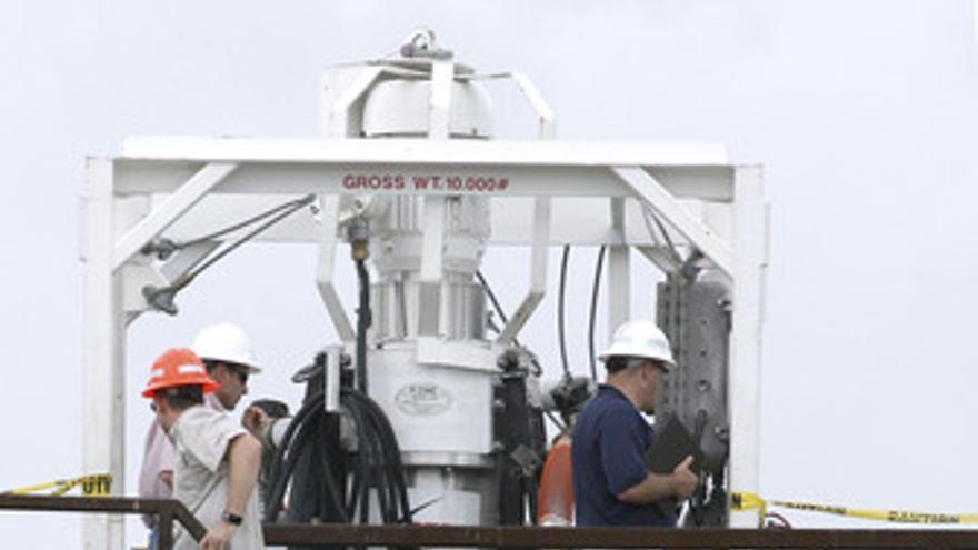 BP despliega las centrifugadoras de Kevin Costner para limpiar el vertido del Go
