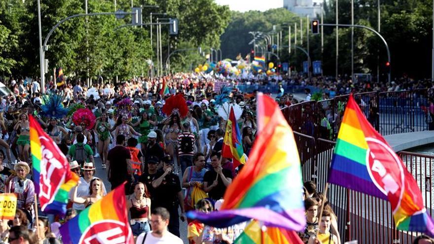 Madrid celebra 40 años de Orgullo y reivindica al colectivo transexual