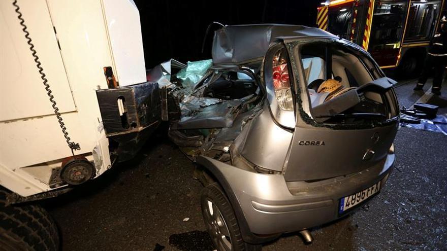 La cifra de fallecidos en las carreteras, 1.135, supera ya la del año pasado