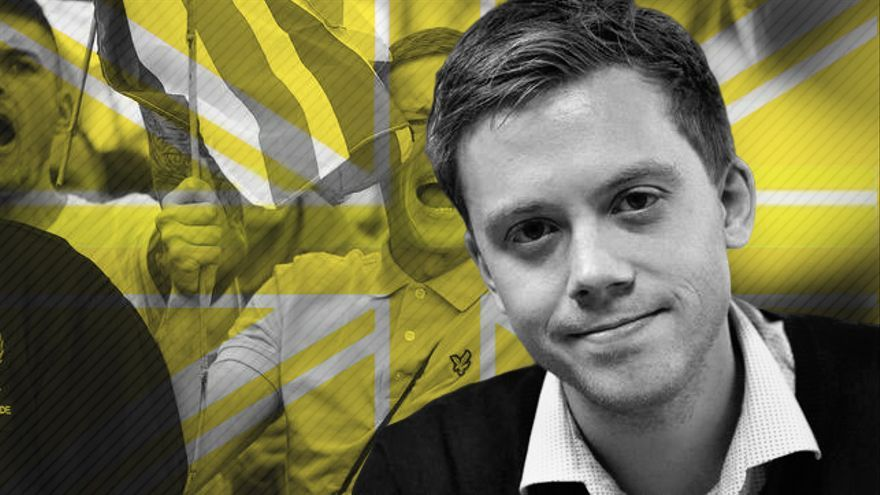 El columnista de The Guardian Owen Jones.