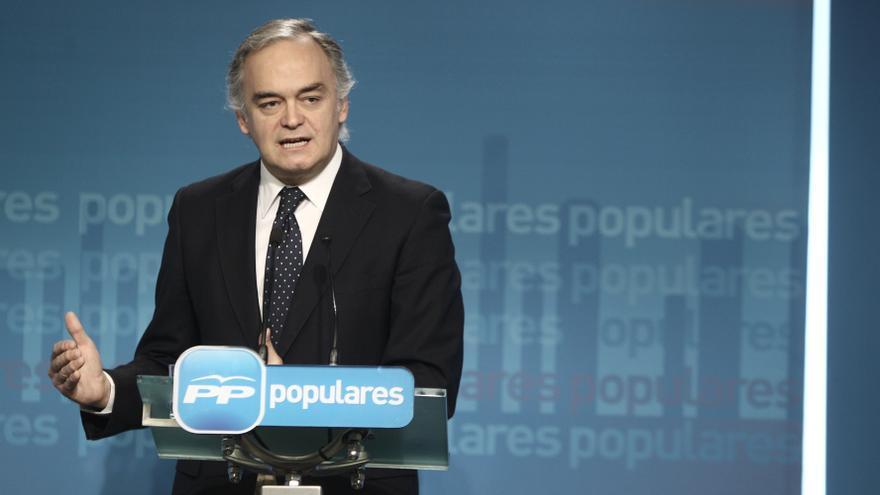 """González Pons: """"Todos en el PP pensamos que hay que reformar la administración y reducir su peso sobre la economía"""""""
